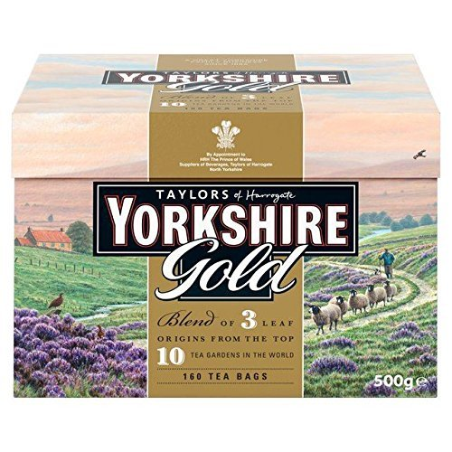 0885221120986 - TAYLORS OF HARROGATE YORKSHIRE GOLD, 160 TEABAGS
