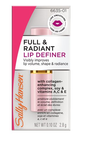 8852218411367 - SALLY HANSEN CLINICAL LIPCARE COLLECTION FULL AND RADIANT LIP DEFINER, 0.1 OUNCE