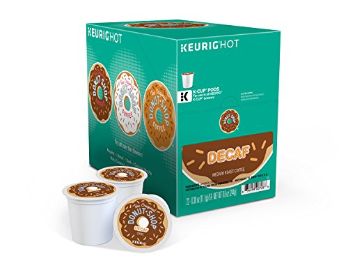0885363493573 - COFFEE PEOPLE DONUT SHOP DECAF MEDIUM ROAST EXTRA BOLD, 22-COUNT K-CUP PORTION