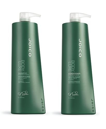 0885364477619 - JOICO BODY LUXE SHAMPOO & CONDITIONER LITER DUO 33.8 OZ