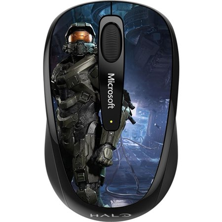 0885370861259 - MICROSOFT WIRELESS MOBILE MOUSE 3500 HALO LIMITED EDITION: THE MASTER CHIEF