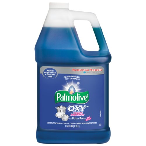 0885500215037 - PALMOLIVE OXY POWER DEGREASER FOR POTS AND PANS, 1 GALLON BOTTLE