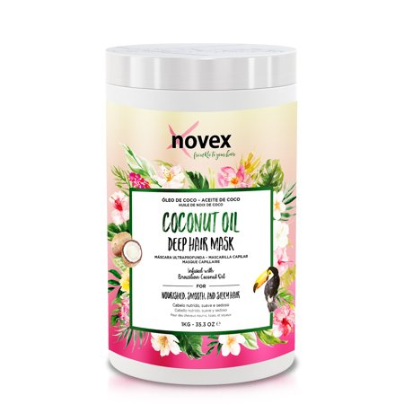 0885644180949 - EMBELLEZE NOVEX COCONUT OIL HAIR CARE TREATMENT CREAM - 35.3 OZ | EMBELLEZE NOVEX CREME DE TRATAMENTO CAPILAR COM ÓLEO DE COCO - 1KG