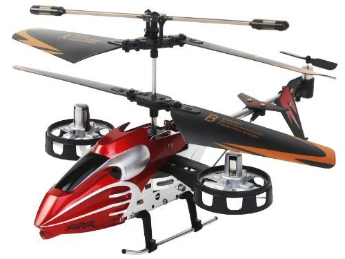 8856623477154 - AVATAR SM933 4CH CHANNEL GYRO RC REMOTE CONTROL MINI HELICOPTER RTF TOY RED BY HELICOPTER