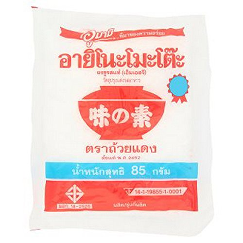 8856770943007 - AJINOMOTO MONOSODIUM GLUTAMATE SUPER SEASONING (MSG) 85 G.