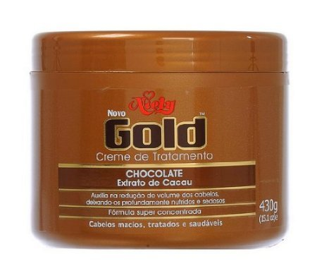 0885788029890 - NIELY BRAZILIAN GOLD CHOCOLATE CACAO EXTRACT CREAM TREATMENT 430G