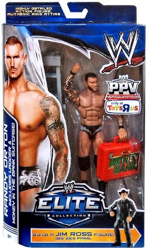 0885840758751 - MATTEL WWE WRESTLING EXCLUSIVE ELITE COLLECTION PAY PER VIEW ACTION FIGURE RANDY ORTON