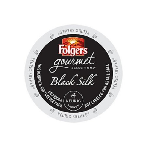 0885931202019 - FOLGERS GOURMET SELECTIONS K-CUP SINGLE CUP FOR KEURIG BREWERS, BLACK SILK, 24 COUNT