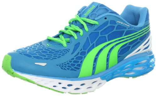 0886378334523 - PUMA MEN'S BIOWEB ELITE RUNNING SHOE RUNNING SHOE,HAWAIIAN OCEAN/FLUORESCENT GREEN,10 D US