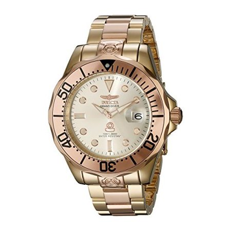 0886678197606 - INVICTA MEN'S 16039 PRO DIVER ANALOG DISPLAY JAPANESE AUTOMATIC TWO TONE WATCH