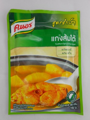 8868880000303 - KNORR THAILAND SOUTHERN SPICY AND SOUR SOUP COMPLETE THAI FOOD RECIPE MIX (PACK OF 6)