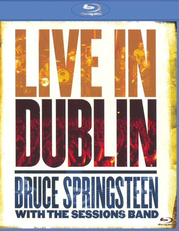 0886970987394 - BLU-RAY - BRUCE SPRINGSTEEN WITH THE SESSIONS BAND: LIVE IN DUBLIN - IMPORTADO