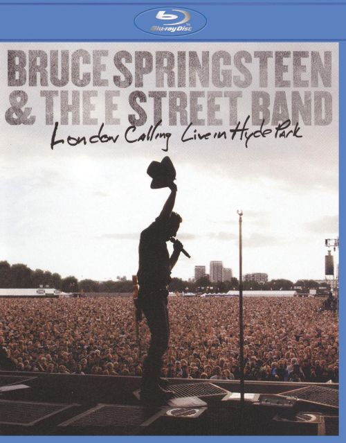 0886977240393 - BLU-RAY - BRUCE SPRINGSTEEN & THE E STREET BAND: LONDON CALLING - LIVE IN HYDE PARK - IMPORTADO