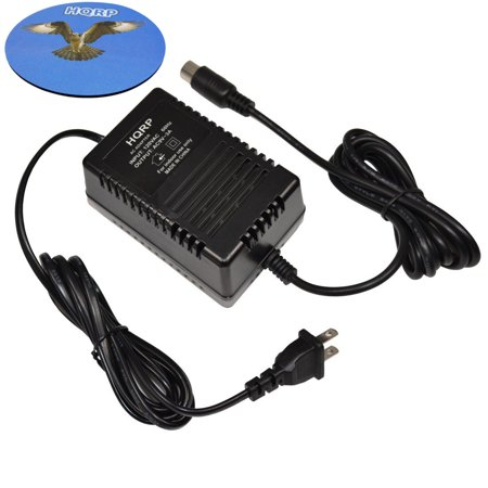 0887774652426 - HQRP 9V AC ADAPTER FOR ALESIS P4 AC09 25D 4-PIN DIN CONNECTOR 9V AC POWER SUPPLY REPLACEMENT FITS QSR DMPRO DRUM MACHINE MIDI DATA DISK QUADRAVERB GT QUADRAVERB QUADRAVERB 2 S4 + EURO PLUG
