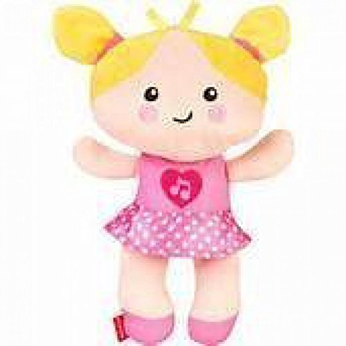 0887961007411 - FISHER PRICE SOFT BABY DOLL - MY FIRST SILLY AND SWEET BABY DOLL