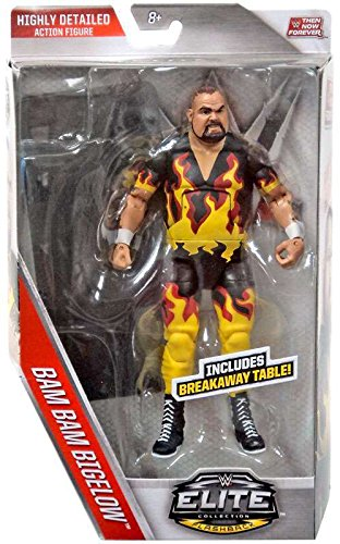 0887961355352 - WWE, ELITE COLLECTION THEN NOW FOREVER, BAM BAM BIGELOW ACTION FIGURE