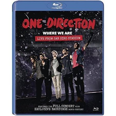 0888430587090 - BLU-RAY - ONE DIRECTION: WHERE WE ARE TOUR