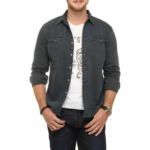 0888446986184 - CAMISA JEANS LEVI S BARSTOW WESTERN SHIRT 2e190204df3