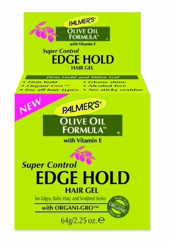 0890590131570 - PALMER'S OLIVE OIL FORMULA SUPER CONTROL EDGE HOLD HAIR GEL, 2.25 OUNCE (PACK OF 2)