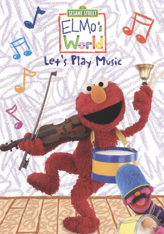 0891264001823 - SESAME STREET: ELMO'S WORLD - LET'S PLAY MUSIC (DVD)