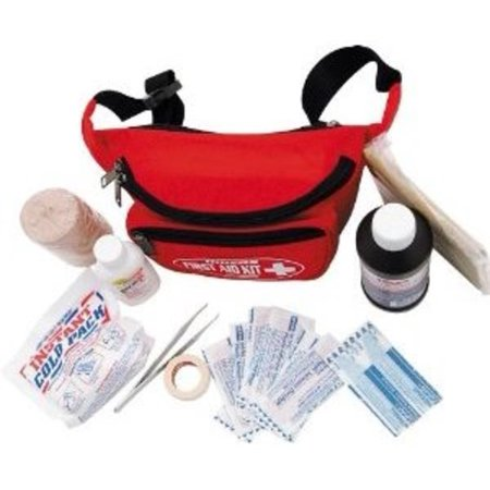 0894302002325 - FIRST AID TRAVEL KIT WITH BLACK FANNY PACK