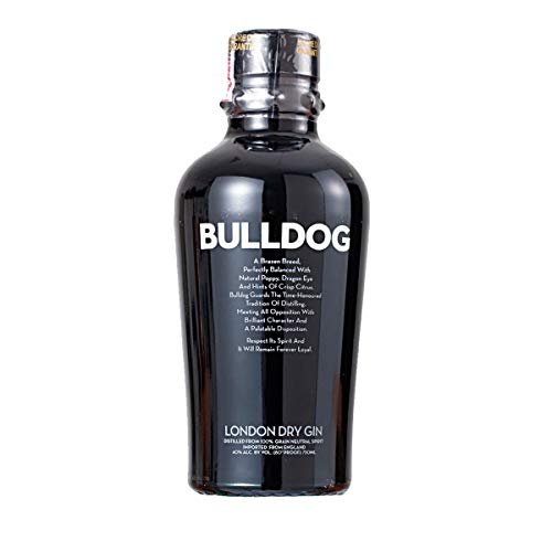 0897076002003 - GIN LONDON DRY BULLDOG GARRAFA 750ML