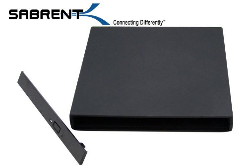 0899495002107 - SABRENT IDE/PATA CD/DVD/RW USB 2.0 SLIM NOTEBOOK DRIVE ENCLOSURE EC-BIDE (CD/DVD BURNER NOT INCLUDED)