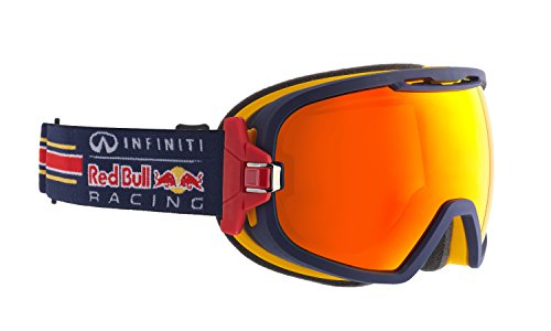 9009507234186 - RED BULL PARABOLICA 018 MATTE BLUE MATTE YELLOW INTERCHANGABLE SNOW GOGGLES