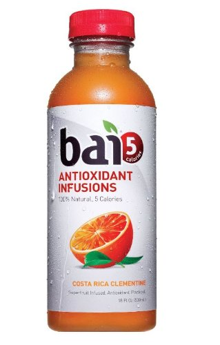 0094922010087 - BAI5, COSTA RICA CLEMENTINE, 100% NATURAL, 5 CALORIE, ANTIOXIDANT INFUSED BEVERAGE, 18-OUNCE BOTTLES (PACK OF 6)