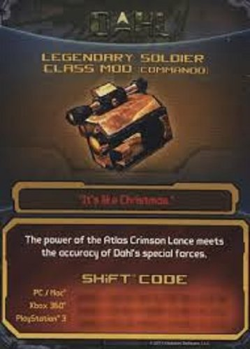 BORDERLANDS 2 LEGENDARY SOLDIER CLASS MOD (COMMANDO) DLC