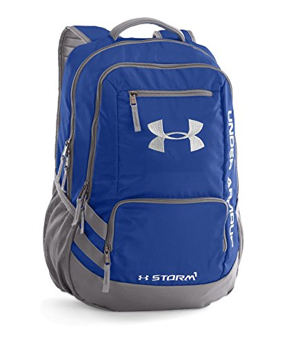 0096962459239 - UNDER ARMOUR HUSTLE II BACKPACK, ROYAL, ONE SIZE