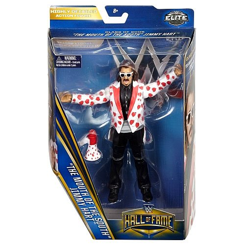 0096962662196 - WWE WRESTLING ELITE COLLECTION HALL OF FAME JIMMY MOUTH OF THE SOUTH HART 6