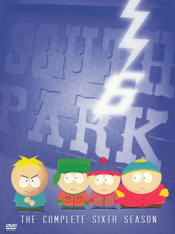 0097368810440 - SOUTH PARK: THE COMPLETE SIXTH SEASON (DVD)