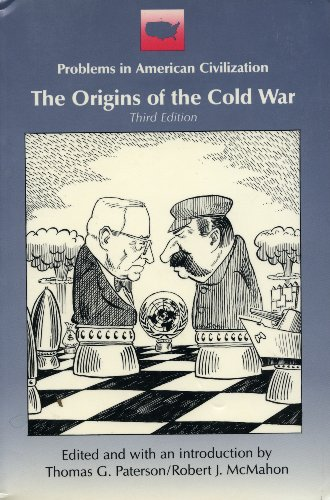 an introduction to the history of the origins of the cold war Find out more about the history of cold war history, including videos, interesting articles, pictures, historical features and more get all the facts on historycom.