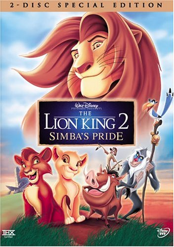 9780788850134 - THE LION KING 2: SIMBA'S PRIDE (TWO-DISC SPECIAL EDITION)