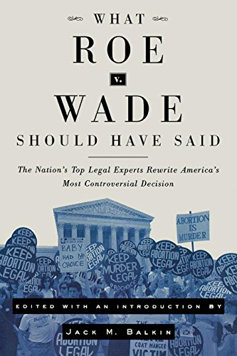 an argument against the 1973 united states supreme court roe vs wade decision on the issue of aborti For abortion defenders and opponents alike, all eyes are on judge brett kavanaugh, president trump's confirmed pick to the supreme court, and whether he could vote to overturn roe v wade.