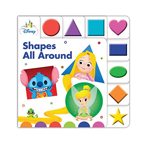 9781368000796 - DISNEY BABY SHAPES ALL AROUND