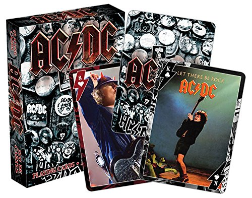 9781495055041 - AC/DC PLAYING CARDS