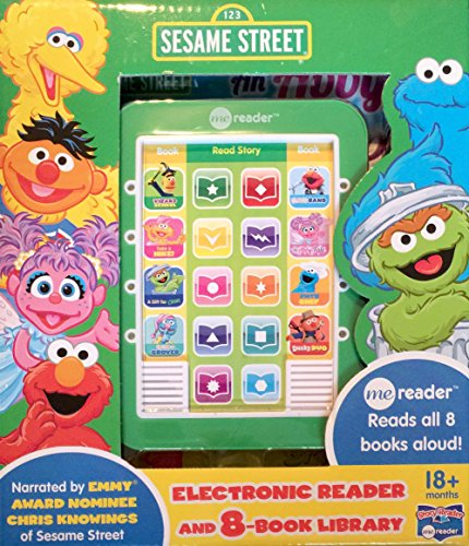 9781503707023 - SEASAME STREET ME READER 8-BOOK LIBRARY (FURRY CHEF, TAKE A HIKE, AN ABBY TALE, ELMO'S BAND, WIZARD SCHOOL, DUSTY DUO, UP LATE WITH GROVER)
