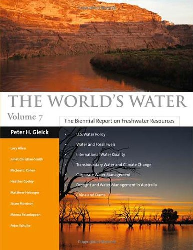 a report on the worlds fresh water