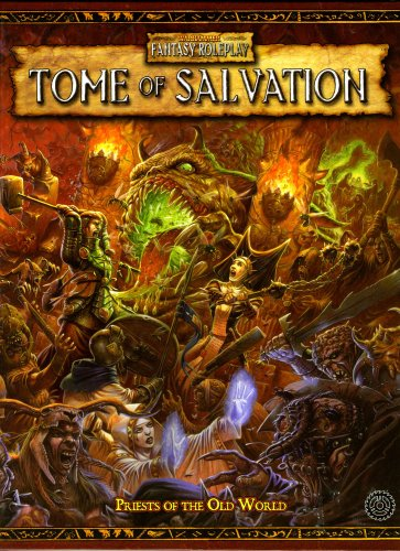 9781844163144 - BLACK IND WFRP 2ND ED. TOME OF SALVATION - PRIESTS OF THE OLD WORLD HC EX