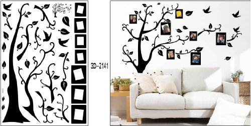 9786152000112 - MEMORY TREE FRAME TREE-WALL 2 DECALS WALL STICKER WALL DECAL