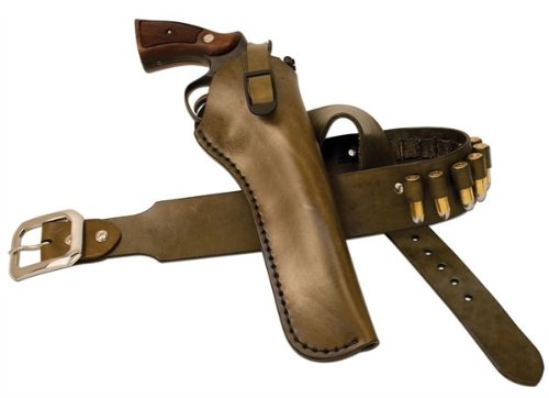 "0098834000662 - TANDY BULLSEYE LARGE HOLSTER LEATHER KIT - FOR AUTOMATICS WITH 4 1/2 TO 5 "" BARRELLS"