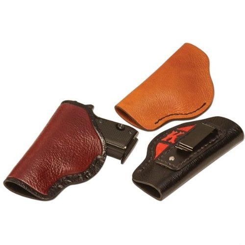0098834027164 - BULLSEYE SMALL CONCEAL AUTOMATIC HOLSTER LEATHER KIT BY TANDY - FREE SHIPPING!