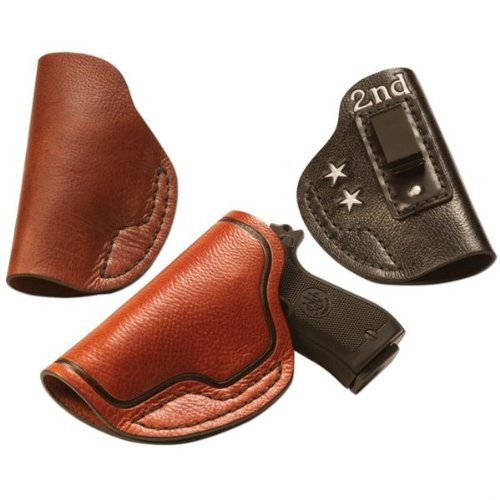 0098834027171 - BULLSEYE MEDIUM/LARGE CONCEAL AUTOMATIC HOLSTER LEATHER KIT BY TANDY - FREE SHIPPING!