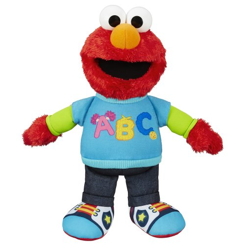 9888374951705 - SESAME STREET TALKING ABC ELMO FIGURE
