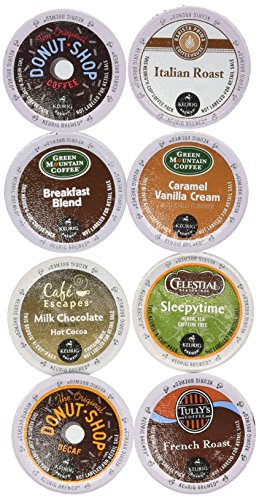 0099555158175 - GREEN MOUNTAIN COFFEE(R) ENTERTAINER VARIETY PACK K-CUPS(R), 0.40 OZ., BOX OF 48