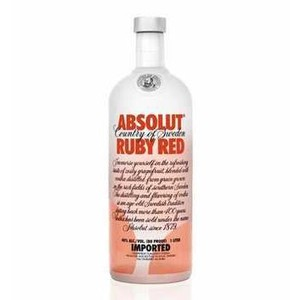 7312040080106 - ABSOLUT RUBY RED GARRAFA 1L