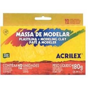 7891153070124 - ACRILEX 12 CORES