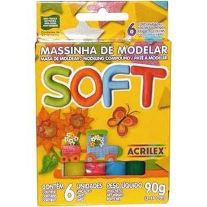 7891153073217 - ACRILEX SOFT 6 CORES